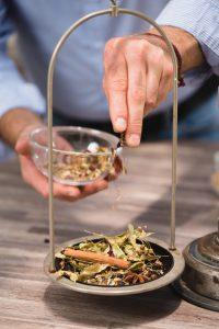 Delion tea készítés
